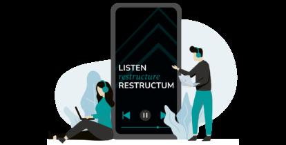 Listen. Restructure. Restructum: #3 Management und Führung in der Krise
